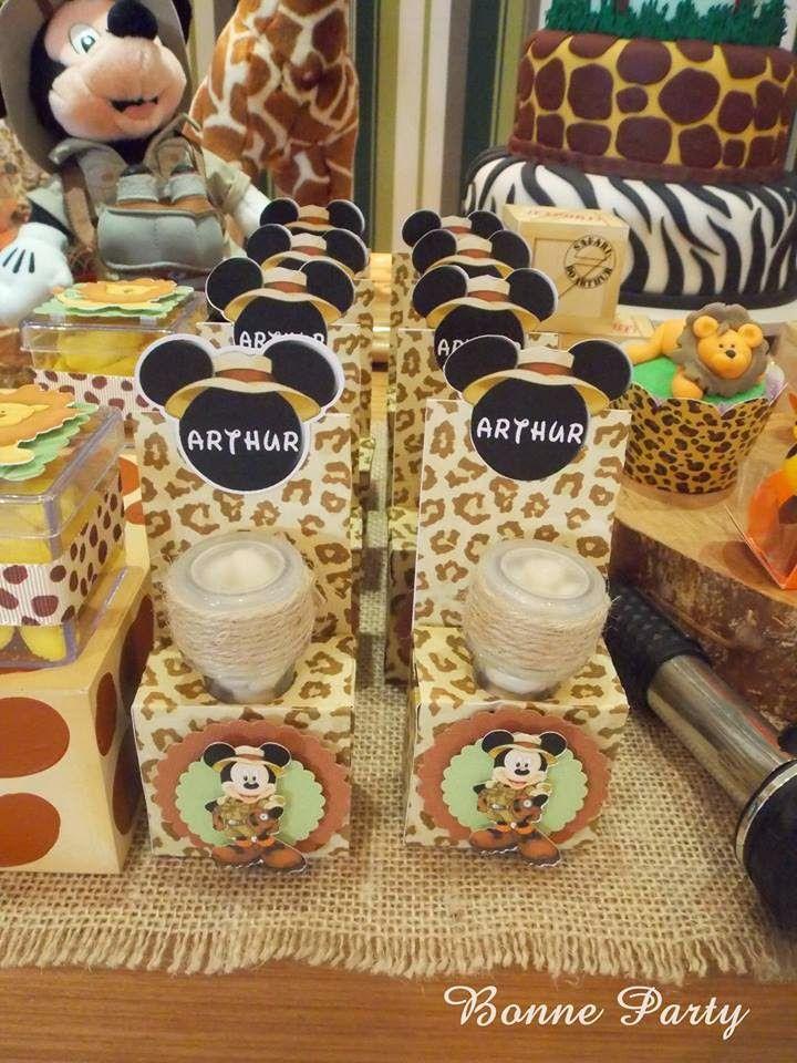 decoracao festa mickey : decoracao festa mickey: Decoração Mickey Safari, Festa Mickey Safari y Festa Mickey E Minnie
