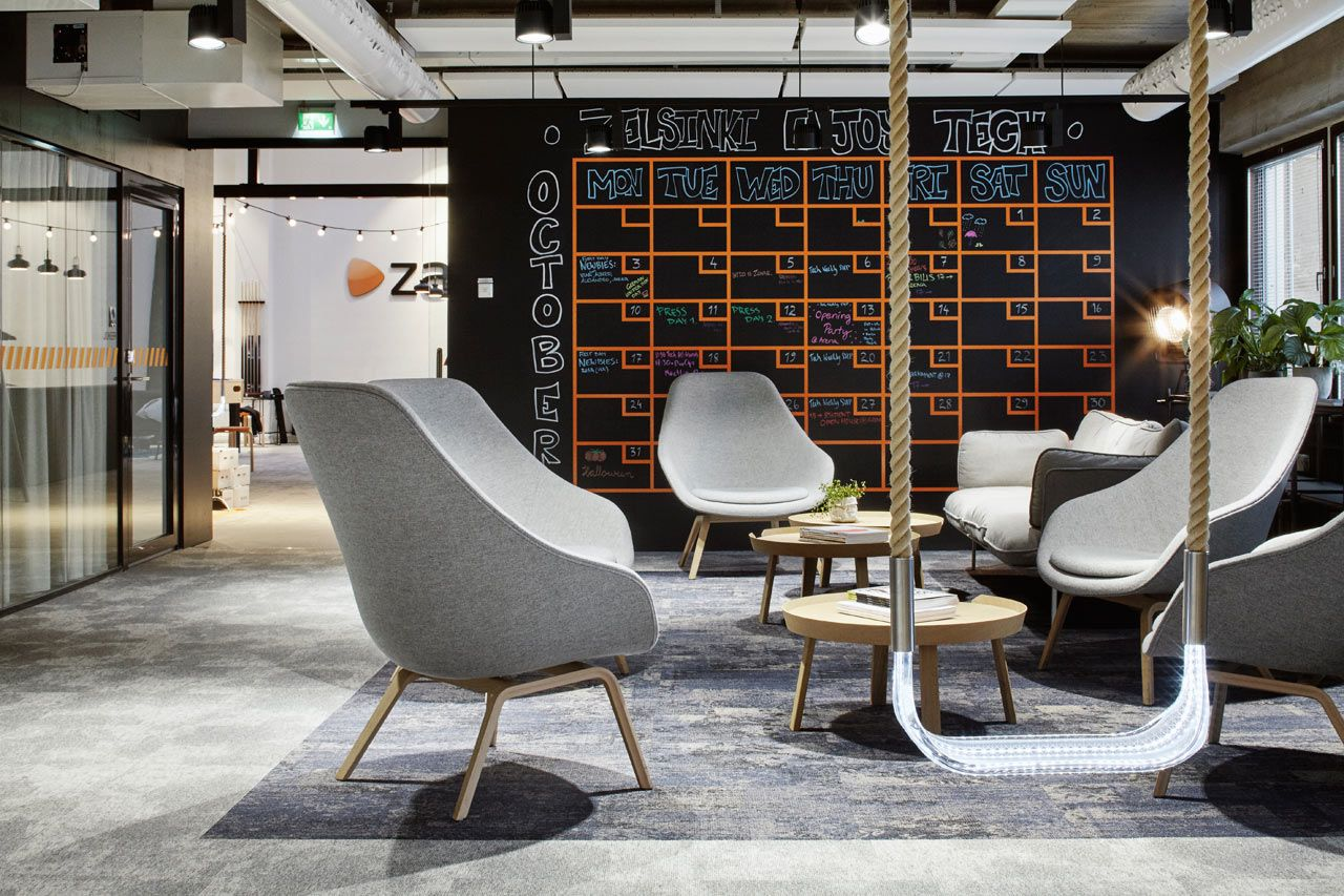 A Tech Company in Helsinki Upgrades to a New, Fun Office ...