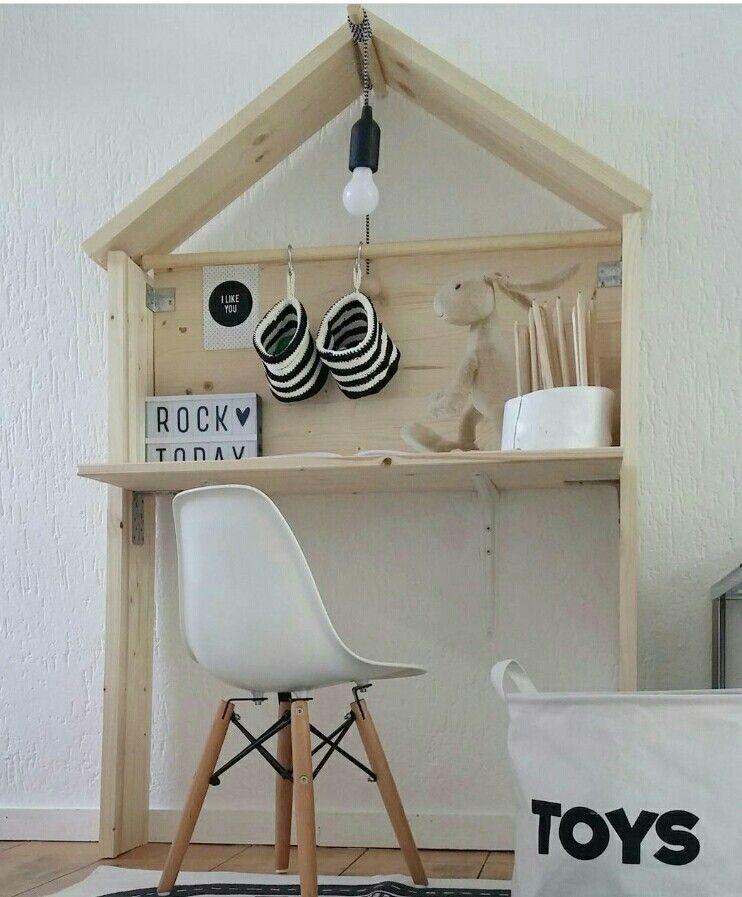 Image Result For House Shaped Desk