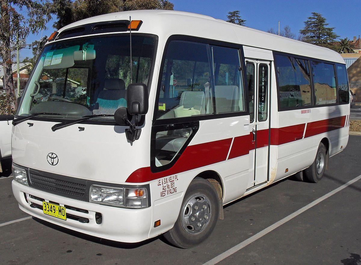 Resultado de imagem para 4x4 toyota coaster bus