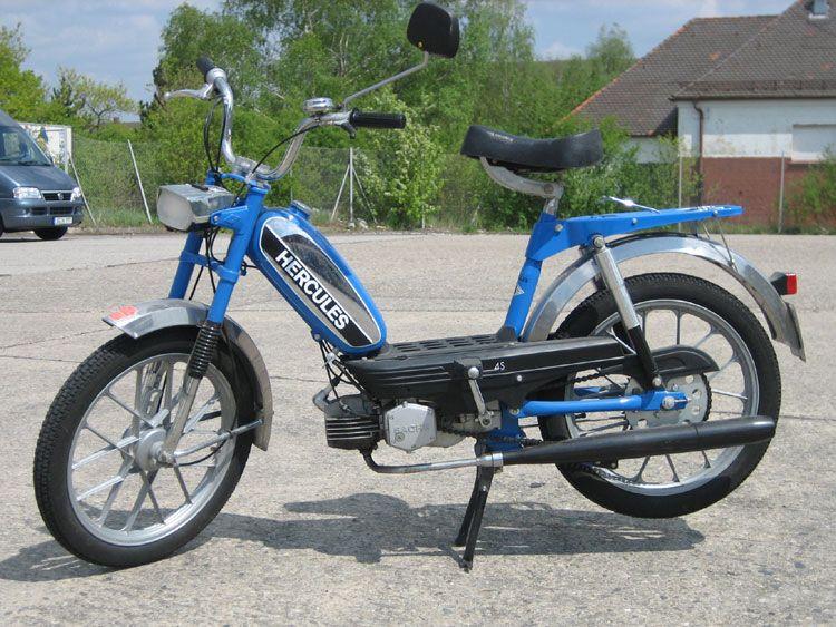 Garelli Baby Mosquito Mofa Moped Motorized Bicycle Oldtimer Bike ...