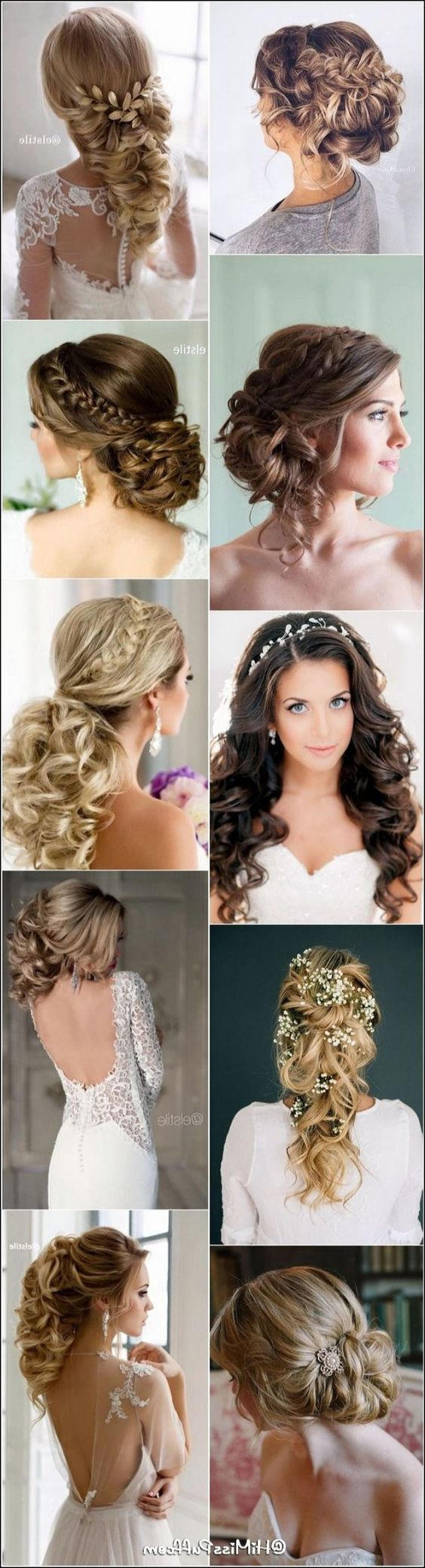 Fabelhafte Hochzeitsbrautfrisuren für langes Haar - Meine Frisuren