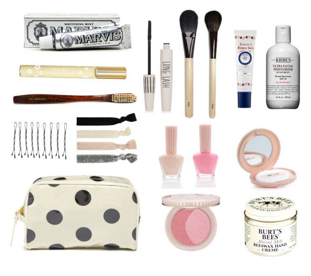 """""""Keep it in the bag"""" by olliewsurfboard on Polyvore featuring beauty, Marvis, Marc Jacobs, Dorothy Perkins, Topshop, Paul & Joe, Forever 21, Burt's Bees, Kiehl's and Rosebud Perfume Co."""