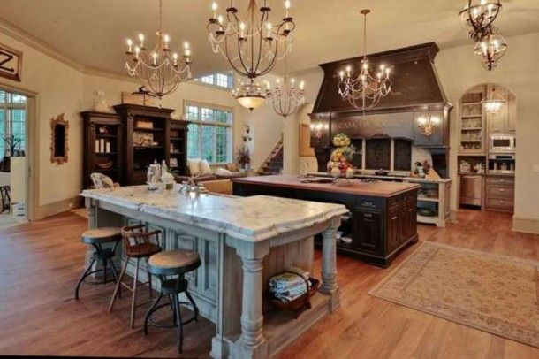 Double Island Kitchen Home Luxury Kitchen Benmossrealtor Kitchen