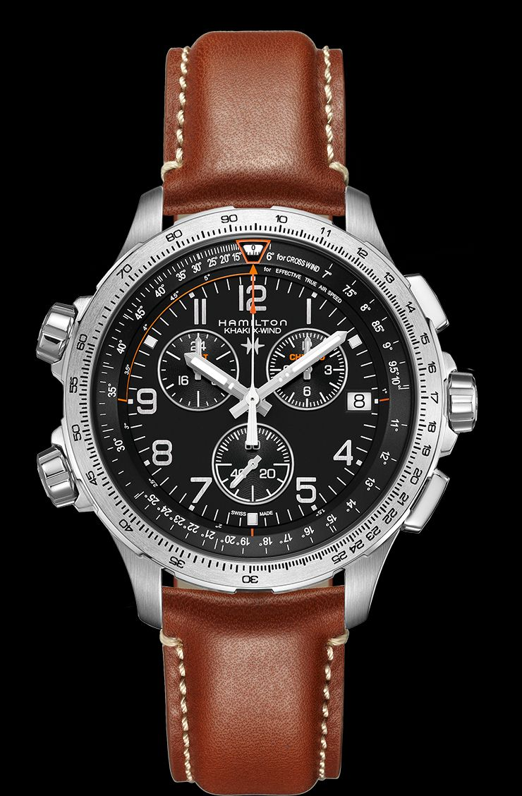 cccddb214 Hamilton Khaki Aviation X-Wind Chrono Quartz GMT | This pilot watch is  stylish and affordable.