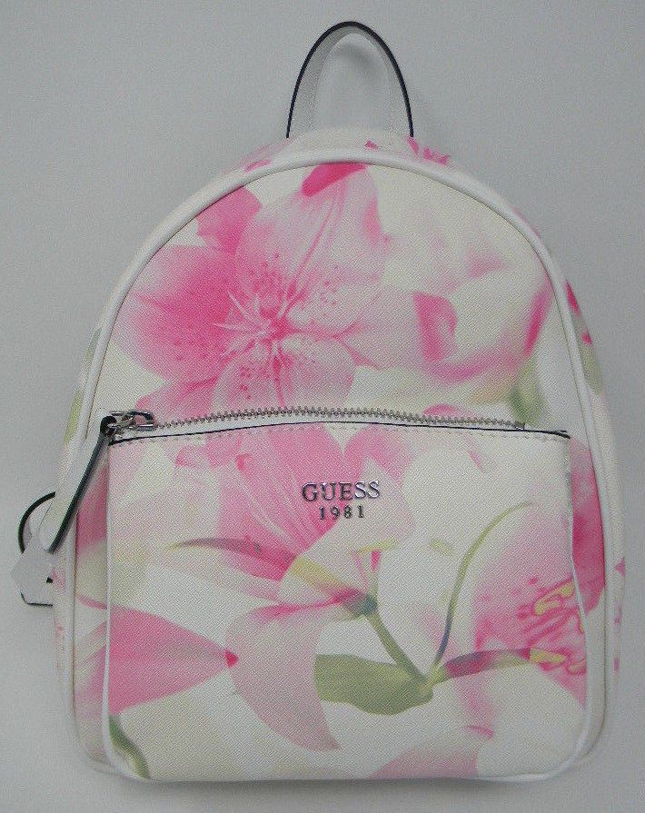 Multi Pandore Floral White Guess Small Flower New Blush Pink vbyIf7Y6g