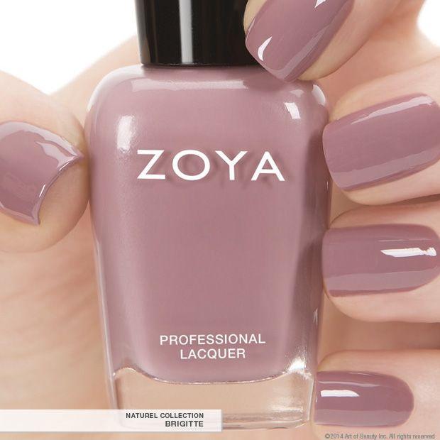 Natural Nail Polish: Zoya Nail Polish In Brigitte A Full-coverage, Bombshell