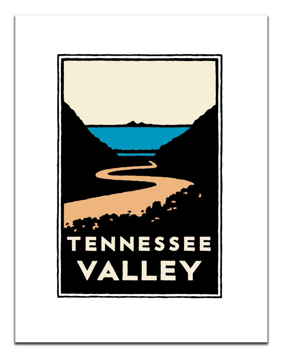 Unframed Poster Tennessee Valley Poster frame, Poster