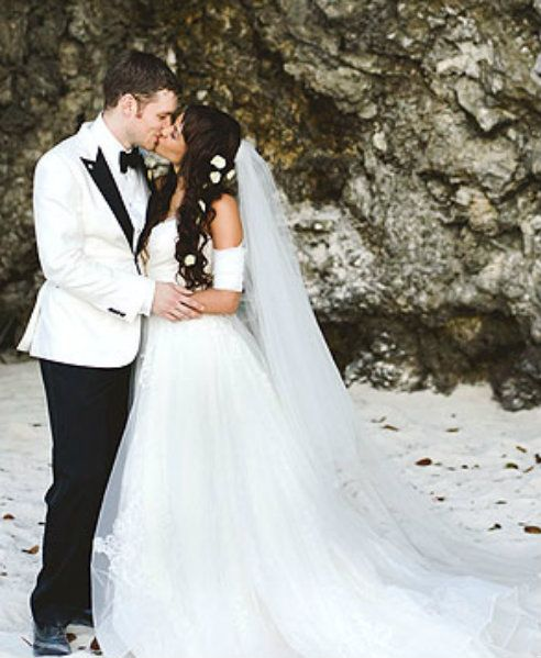 Joseph Morgan Wedding Joseph Morgan Celebrity Weddings Bride Wear