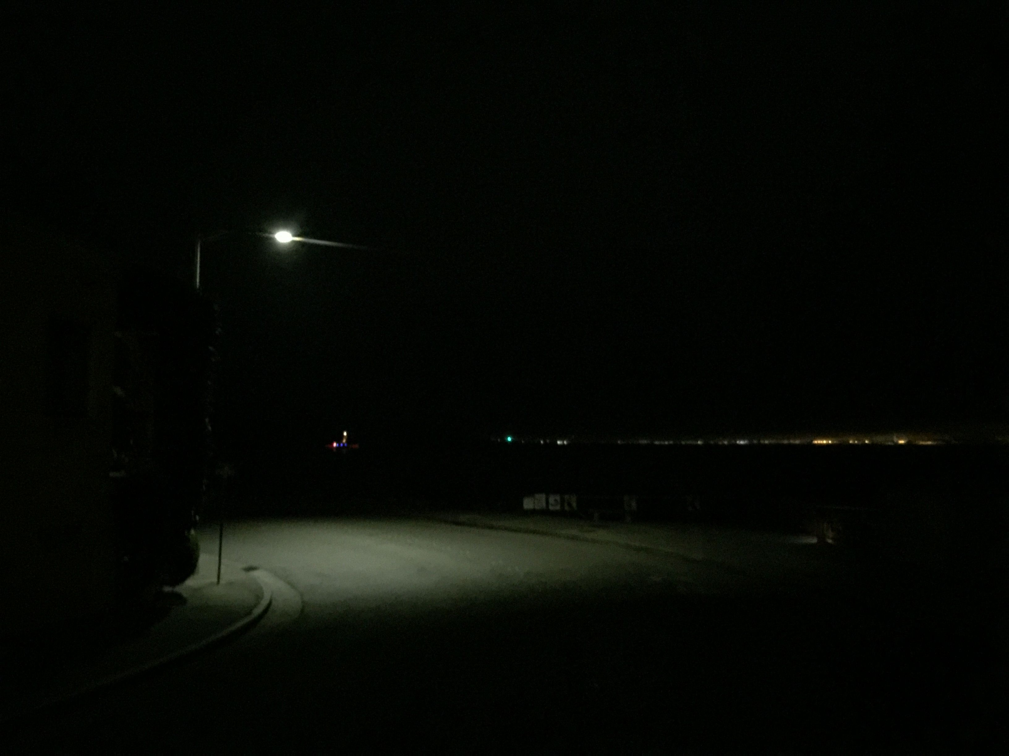 Lonely light lonely night night photography natural
