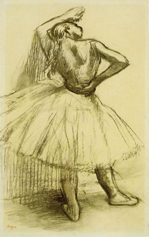 Edgar Degas Ballet Dancer Resting - One of my all time ...
