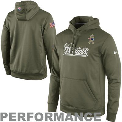cheap for discount dacc5 59fba Nike New England Patriots Salute to Service KO Pullover ...