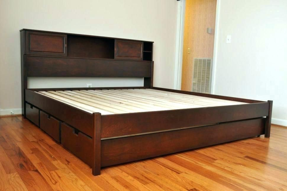 Super Full Size Wood Bed Frame With Drawers Ideas Amazing Full Size Wood Bed Frame With Drawe Platform Bed With Drawers Cheap Bed Frame Bed Frame With Storage