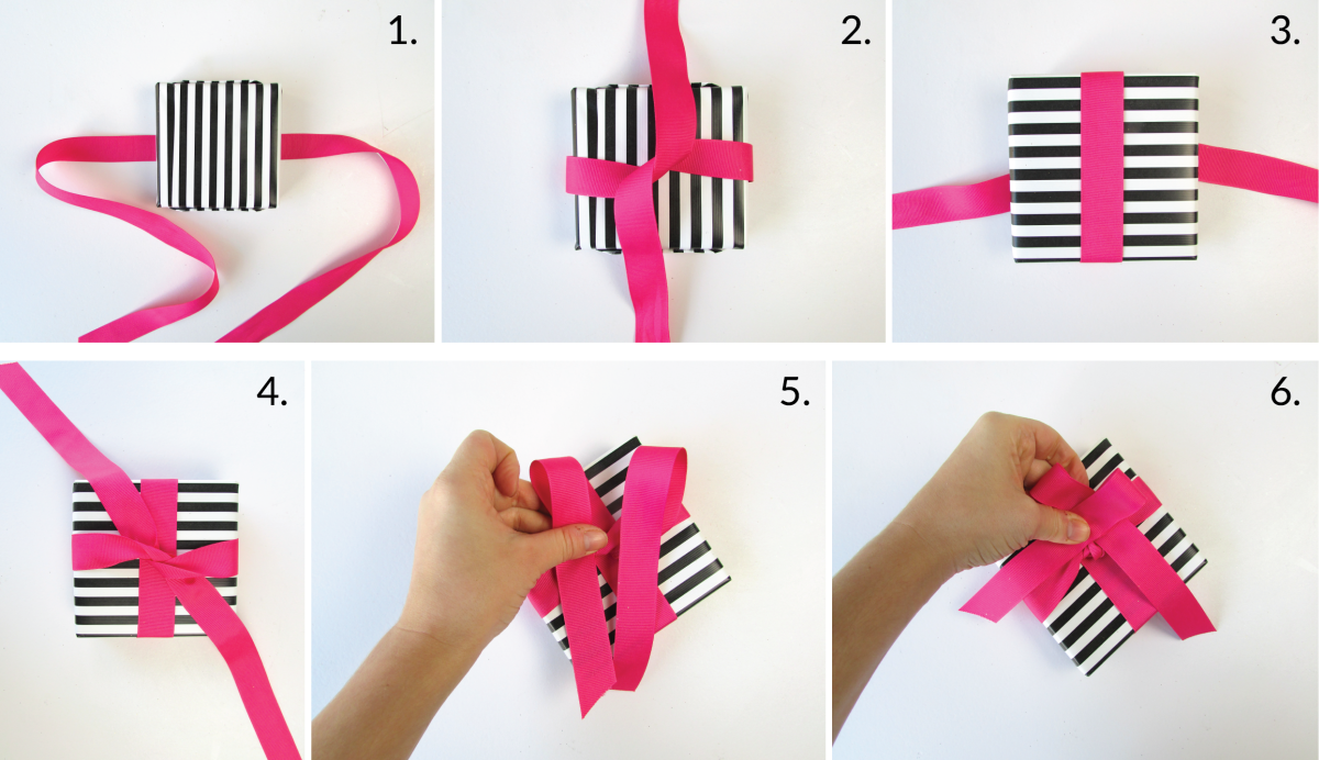 3 Beautiful Ways Of How To Tie A Bow With Ribbon Bows Diy Ribbon Bows For Presents Tie Bows With Ribbon