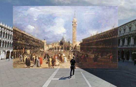 Juxtapoz Magazine - Classic Paintings in Google Street View