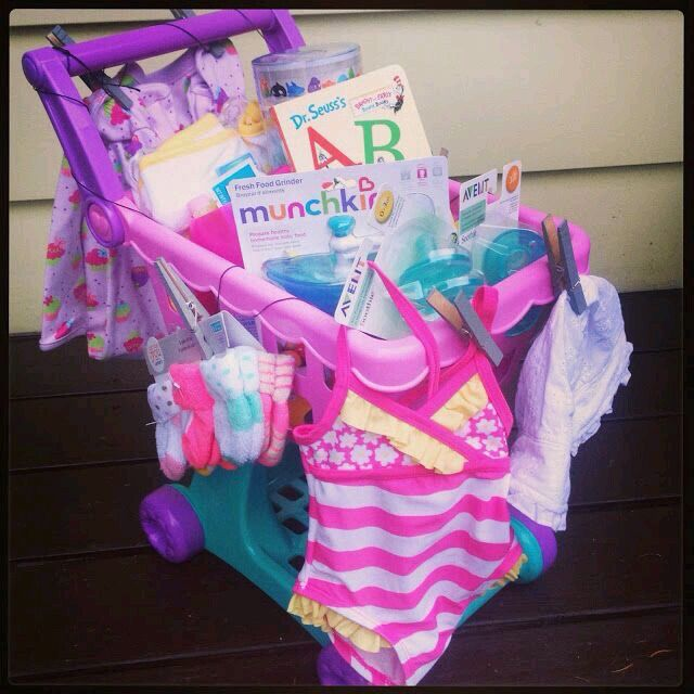 Adorable idea going to fill ems first shopping cart for easter love this idea for a gift basket idea for toddler or little girl fill up with goodies mix of dollar store big box store items negle Image collections