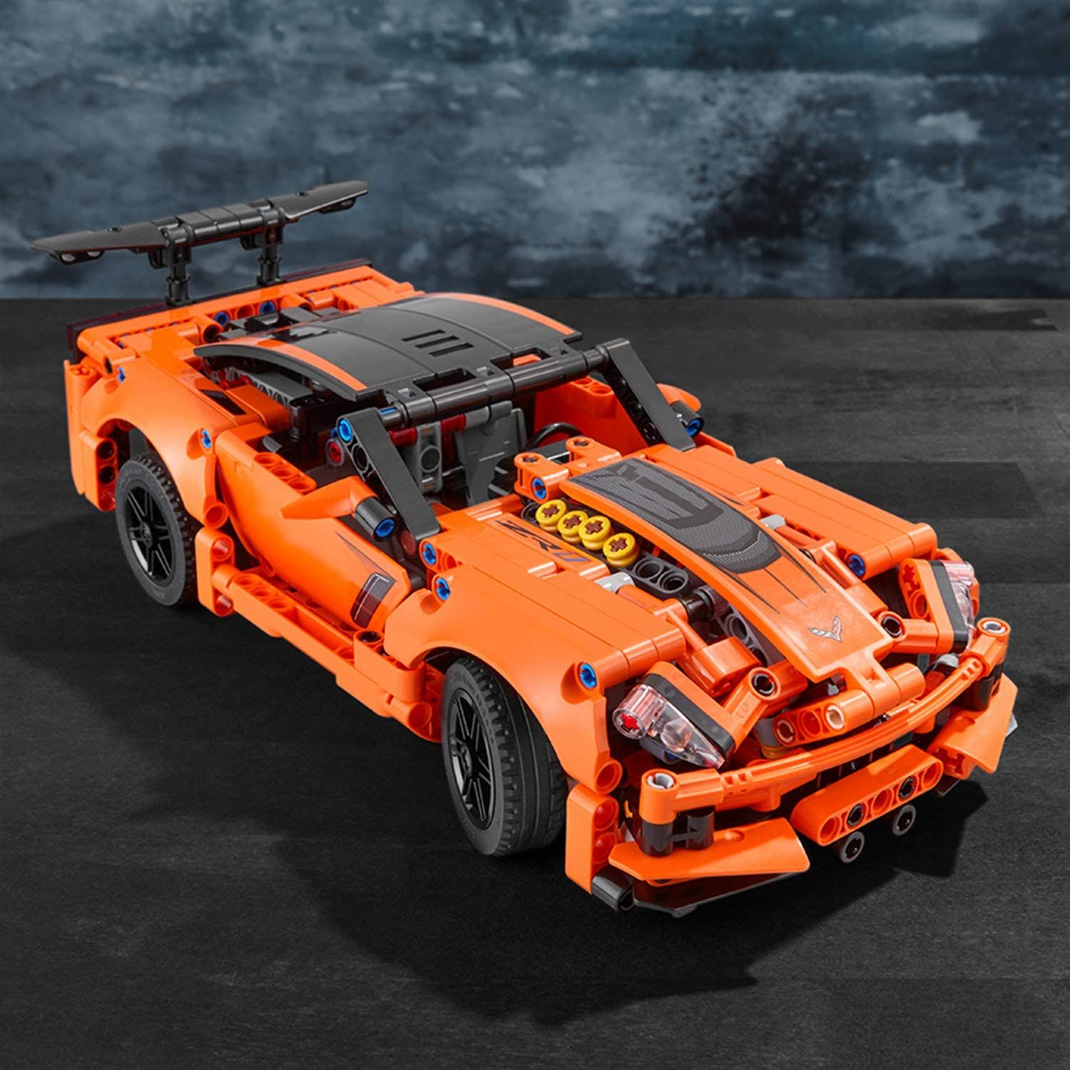 Lego Technic Chevrolet Corvette Zr1 Jeu De Construction Voiture 9 Ans Et Plus Corvette Zr1 Chevrolet Corvette Technique Lego