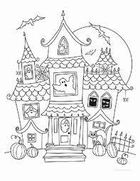 Imagenes De Casas Embrujadas Para Ninos Buscar Con Google Dibujo De Casa Dibujos De Halloween Casas Embrujadas