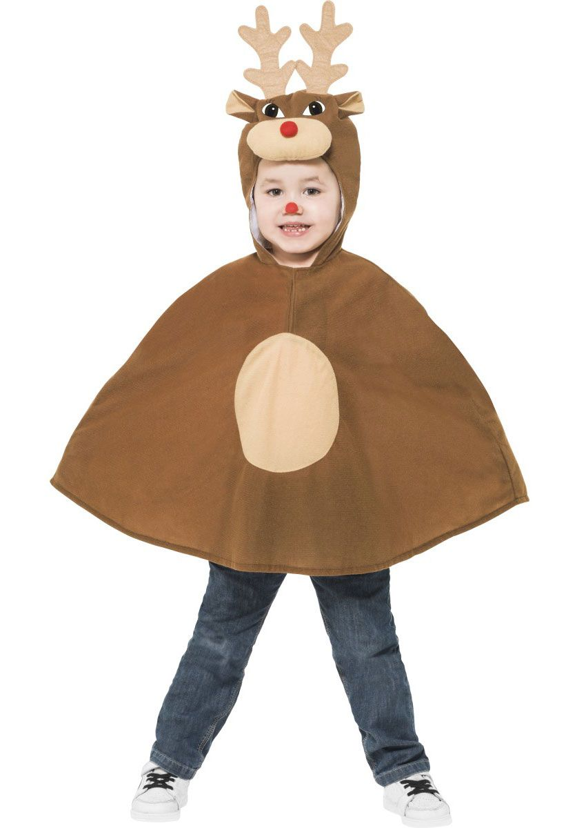 04fa311b9196 Kids Reindeer Poncho Costume, Reindeer Fancy Dress - Childrens Christmas  Costumes at Escapade™ UK - Escapade Fancy Dress on Twitter: @Escapade_UK