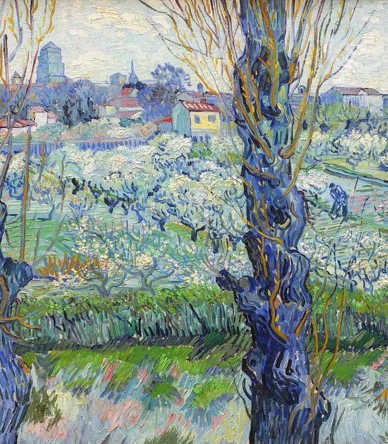 Paysage Champetre Tableau De Vincent Van Gogh Peinture Paysage Art De Van Gogh Histoire De La Peinture