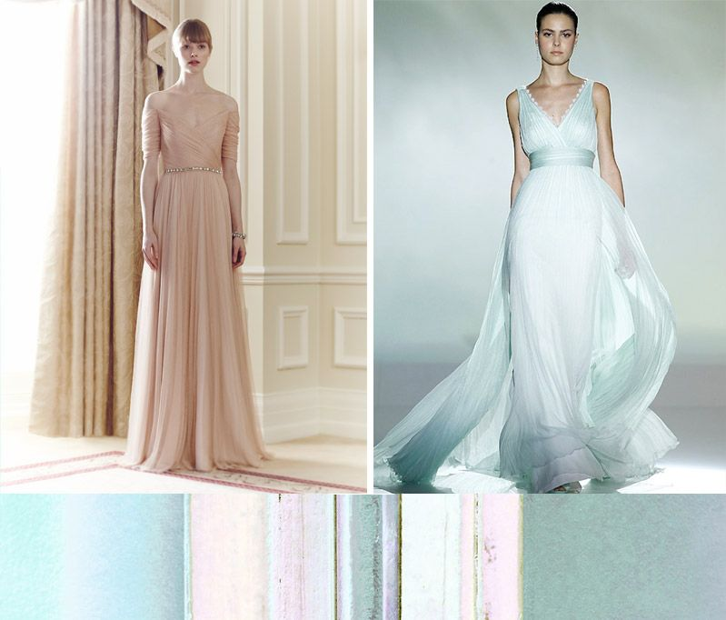 Beautiful Pastel Dresses | Wedding Gallery