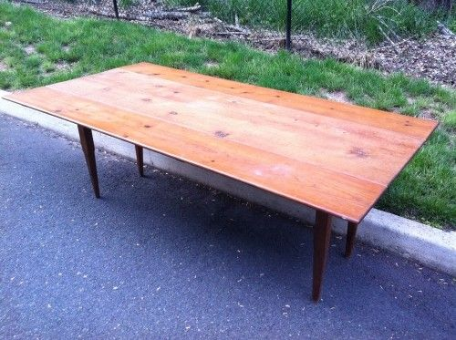 Forgotten Furniture   7ft Country Pine Farmhouse Table W/ Drop Leaves,  $400.00 (http