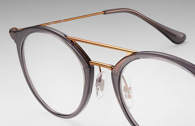 4ea1a44c2995b Ray-Ban 0RX7097-RB7097 Grey  Bronze-Copper OPTICAL. Find this Pin and more  on eye glasses ...