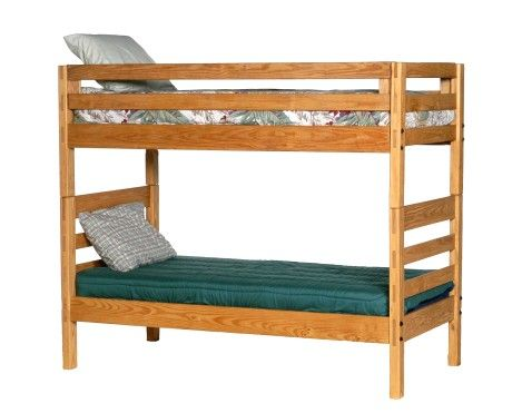 CJ Bunk Bed Factory Direct JessCrate Pine Furniture Ideal For Dorms