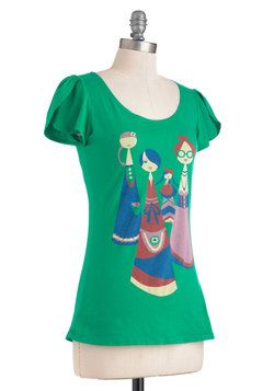 Four the Ladies Tee, #ModCloth