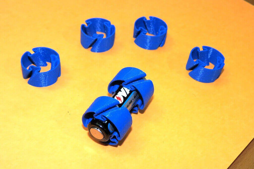 Image Of Nutzliche 3d Druck Ideen Aa Batterie Adapter 3d Druck