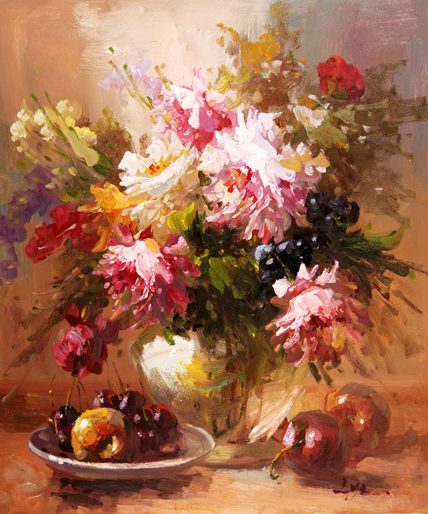 Oil painting flower buscar con google flores y canastas oil painting flower buscar con google izmirmasajfo Image collections