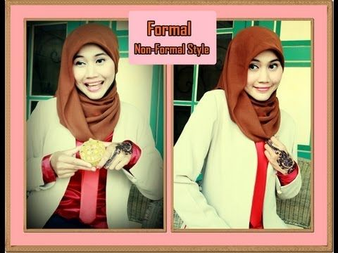 Tutorial Hijab Paris Simple One Minute Formal Non Formal By Didowardah Hi Subscribers This Is Another Formal Style Of Hijab Kursus Hijab Hijab Paris