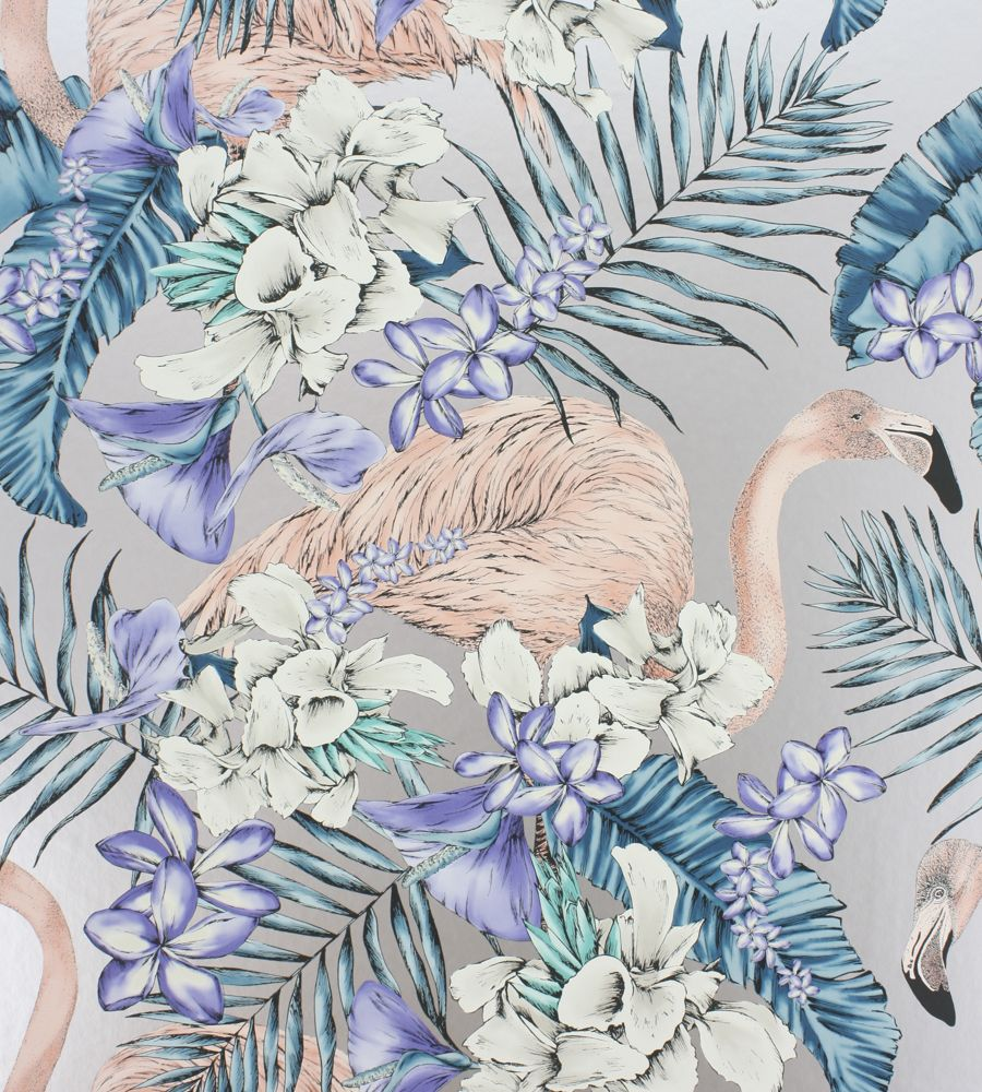 Design Classics | Metallics | Flamingo Club Wallpaper by Matthew Williamson | Jane Clayton
