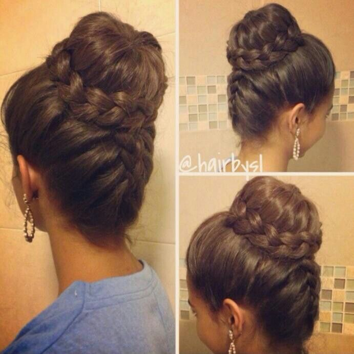 I bet my mom can do this to my hair