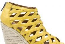 Kelsi Dagger - Kaden - Yellow Leather