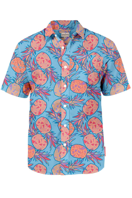 097bb3b7 Island Song (Choreo. Teddy Tedholm) Men's Pineapple Hawaiian Shirt ...