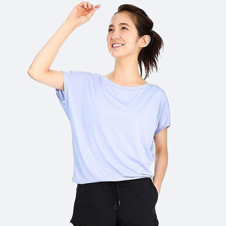 6f8f23282f4 Women drape crewneck short-sleeve t-shirt | // SHOP | T shirt, Women ...