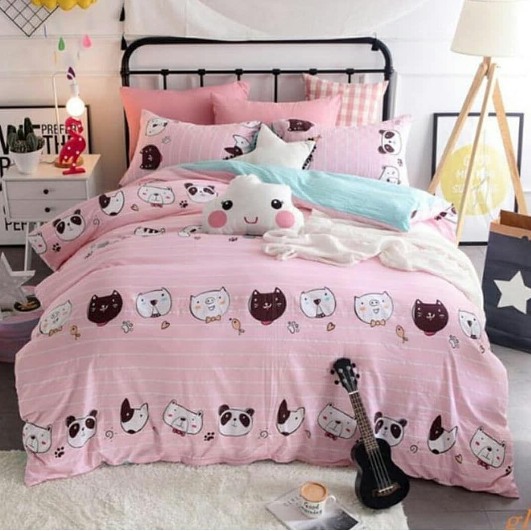 Serba pinky cocok untuk mempercantik kamar anak perempuan