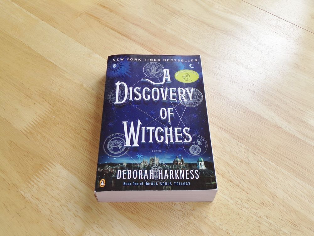 A discovery of witches by deborah harkness book one of the