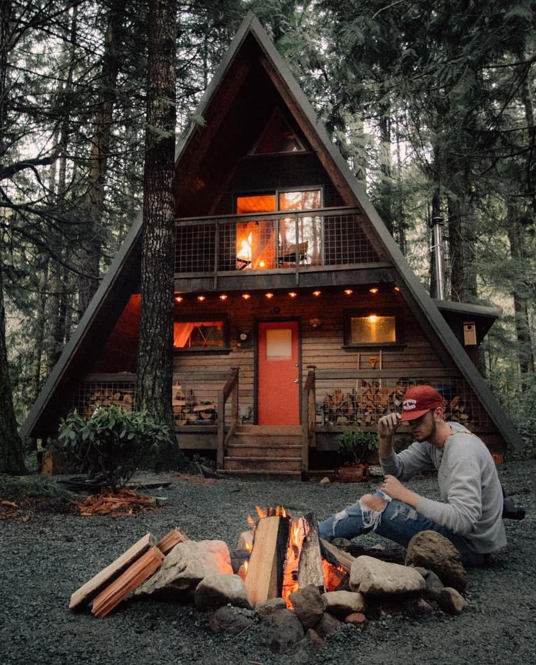 I Love This Cabin Home Follow Me Pinterest Com Mrcafer Youtube Mr Cafer Mrcafer Blogspot Com Small Log Cabin A Frame House Log Cabin Homes