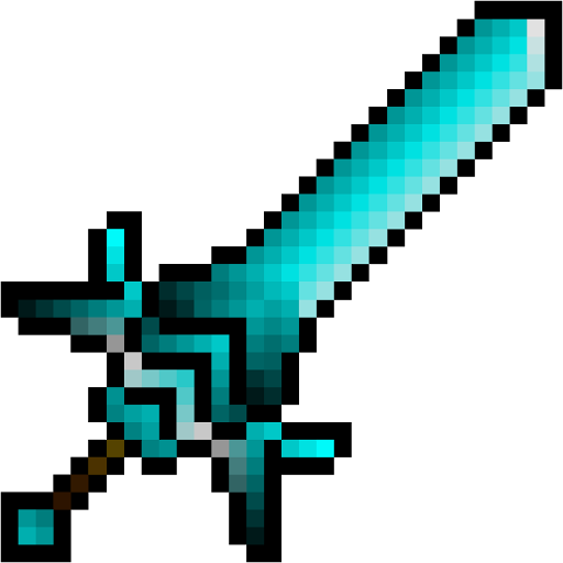 Gallery For Minecraft Diamond Sword Png Minecraft Diamond Sword Minecraft Sword Minecraft