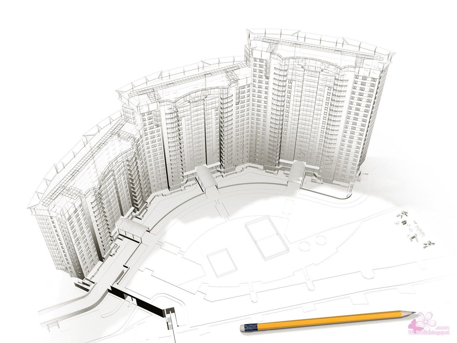 Architectural Design Drawing Design Inspiration 2 1600x1200