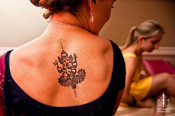 Mehndi Nape Tattoo : Ganpati mehndi designs ganesh design ideas