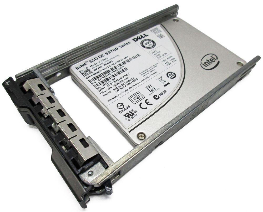 6XJ05 Dell Intel SSD DC S3700 400Gb SATA 2.5/'/' Solid State Drive SSDSC2BA400G3T