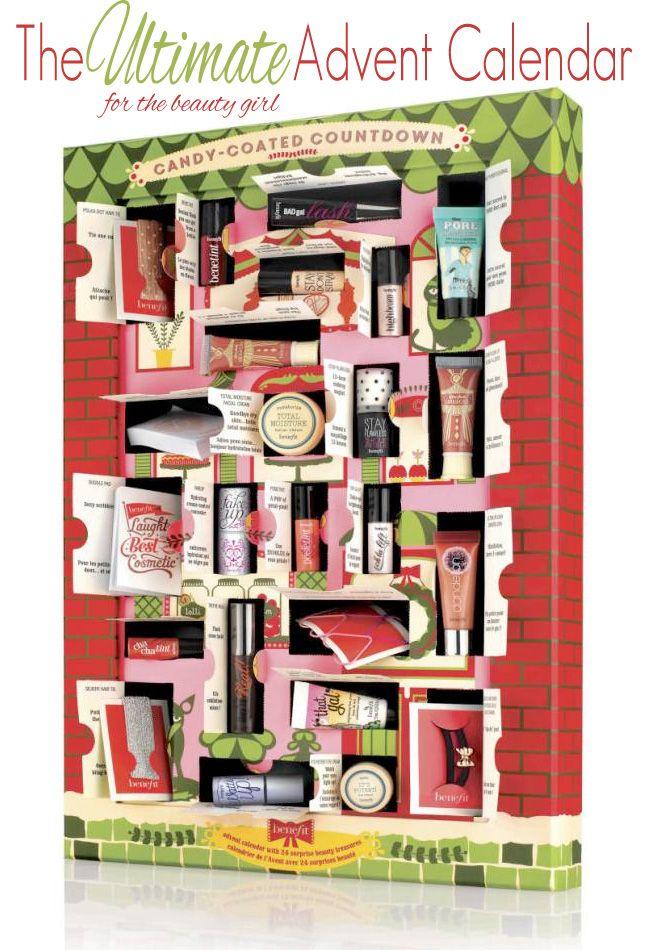 Benefit Candy Coated Countdown Advent Calendar Beautiful Makeup Search Beauty Advent Calendar Makeup Calendar Best Beauty Advent Calendar