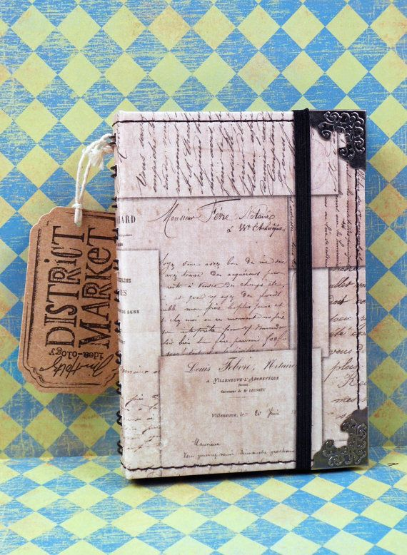 Tim Holtz District Market Journal Memoirs