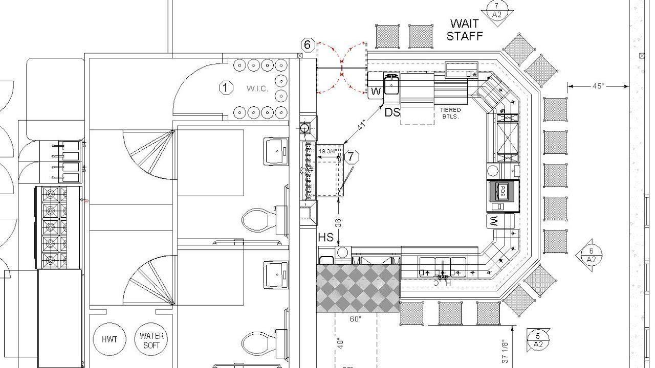 Bar Design Ideas - How to Design a Commercial Bar for 3-Bin Sinks ...