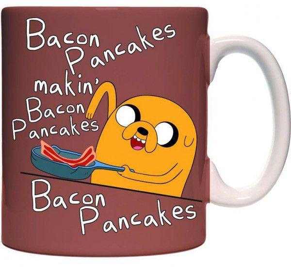 Adventure Time bacon pancakes mug