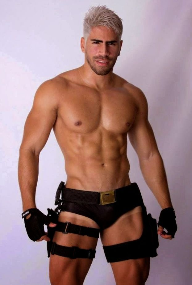 gay male policemen in underwear