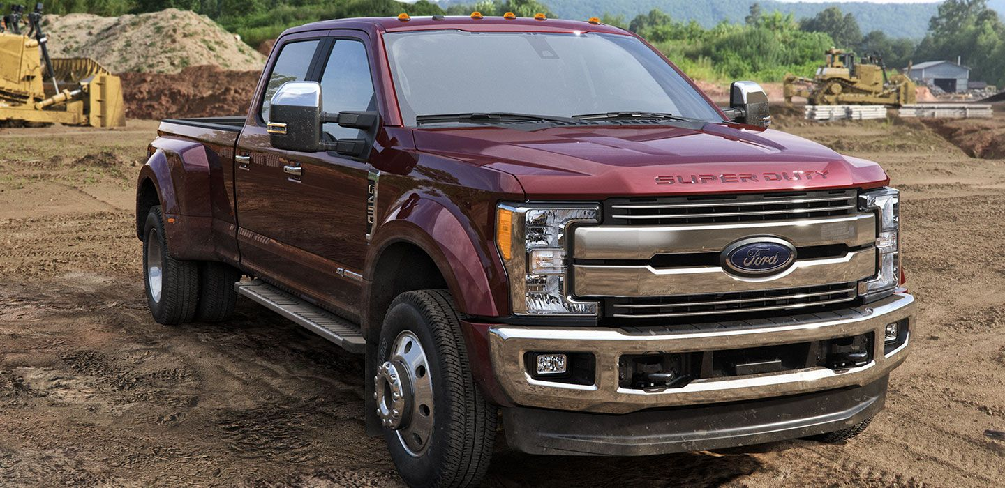 Check out the all new 2017 super duty the heavy duty pickup truck has been constructed with new materials including aluminum alloy body and fully boxed